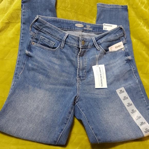 580a4491cb50 High-Rise Secret-Slim Pockets Rockstar Jeans